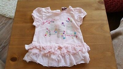 Ted Baker Baby Girl Pink Top 0-3 months