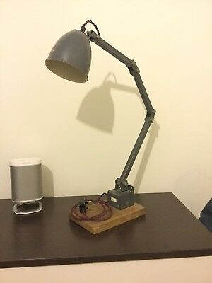 memlite vintage industrial lamp, workshop/factory
