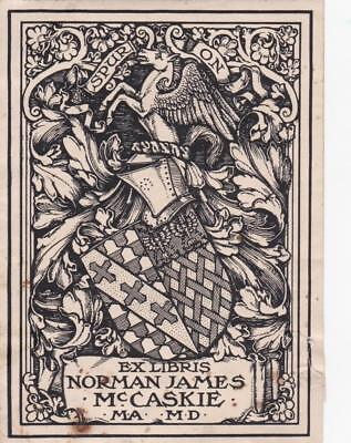 Armorial Book Plate