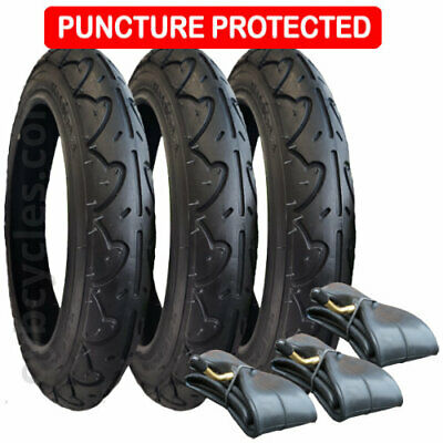 Tyre and Inner Tube Set for Phil & Teds E3 - Puncture Protected