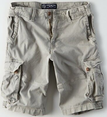 "NWT American Eagle Mens Longer 12"" Length Cargo Shorts 36 40 42 44 46 48 Flex"