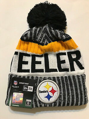 0182ff9f5 best price pittsburgh steelers nfl official sideline sport knit hat ...