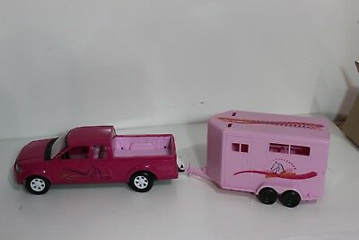 Popak  pickup Truck and horse Trailer like Breyer Stablemates truck