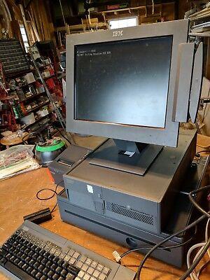 IBM POS System With Epson Printer and Cash Drawer