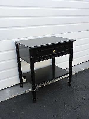 Hollywood Regency Mid Century Painted Nightstand End Table by Terryville 6854