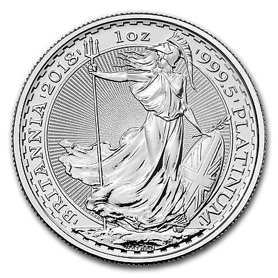 2018 Great Britain 1 oz Platinum Britannia BU - SKU#152526
