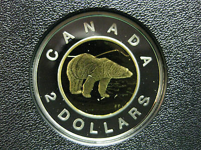 2008 Canadian Silver Proof Toonie ($2.00)