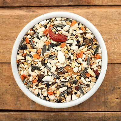 500 gm Tropical Parrot Bird Food with Fruit Mix, Macaw, African Grey, FREE Post