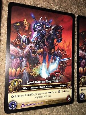 Lot of 15 World of Warcraft WoW TCG Invocation Betrayer Rare Extended Art