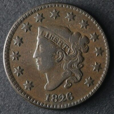 1826 Large Cent Great Deals From The TECC Bargain Bin