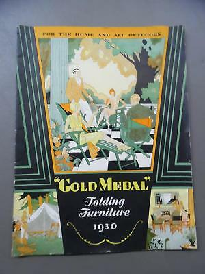 1930 Gold Medal Folding Furniture Co Catalog Director Chairs More Racine Vintage