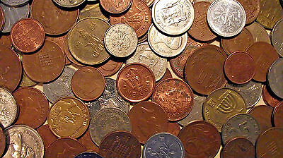 World Coins & U.S. Tokens 30+Coins & Tokens Grab Bag (LOT M73)  ****MANY AU****