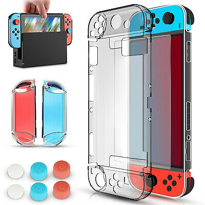 Clear Hard Case Cover Anti-Scratch Protective Shell For Nintendo Switch Joy-Con
