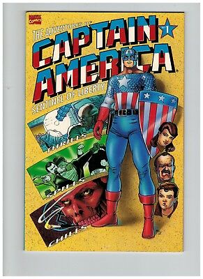 Adventures of Captain America: Sentinel of Liberty #1 Marvel Comic Book 1991