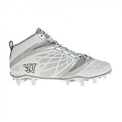 NEW Warrior Mens Burn Speed 6.0 Low LAX Cleat BURN6MWT Team Sports Lacros SZ 13
