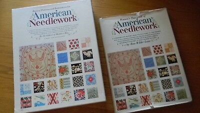 1963 Woman's Day AMERICAN NEEDLEWORK History + Book of Patterns & Instructions