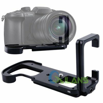 Quick Release L-Plate Bracket Camera Hand Grip Holder For Panasonic GH5  sc 1 st  PicClick & QUICK RELEASE L-PLATE Bracket Camera Hand Grip Holder For Panasonic ...