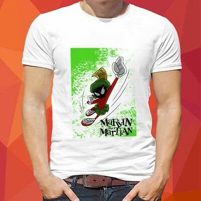f9556ab9 Marvin The Martian Looney Tunes Tee Cotton Tshirt NEW Men's T-Shirt Size S -