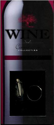Wine Connoisseur Collection Pourer Stopper Drip Ring Book Gift Box BRAND NEW
