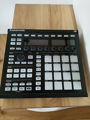 Native Instruments Maschine MK2 (Black) with Software Licence and USB cable