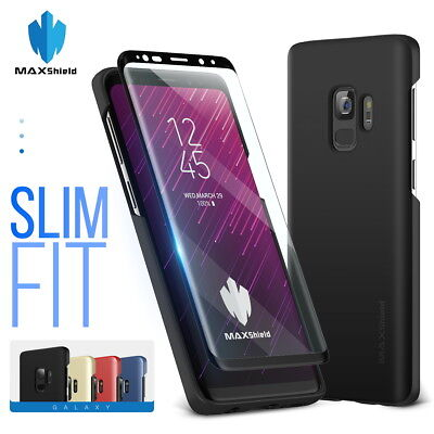 Galaxy S8 S9 S9 Plus Case,Genuine MaxShield Ultra Thin Fit Slim Cover fr Samsung
