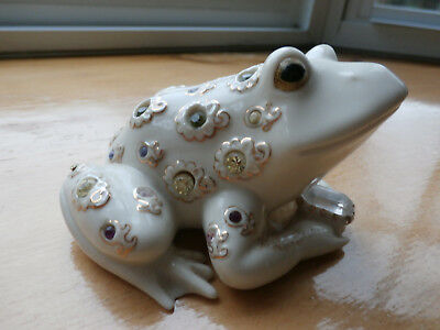 lenox -  the prince of jewels frog - mint