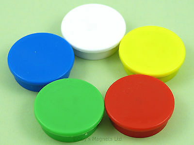 Strong Office / Whiteboard / fridge Magnets 31.2mm x 9.5mm choice colour / pack