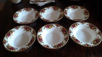 Old Country Roses Royal Albert bone China England Suppenteller Tiefe Teller