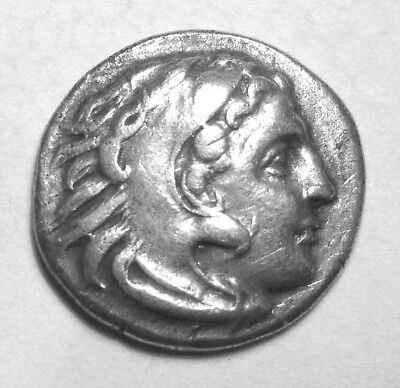 ALEXANDER III, THE GREAT.  AR DRACHM. UNPUBLISHED. Ref. 1490.