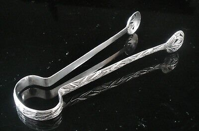 Chinese Export Silver Sugar Tongs, c.1900