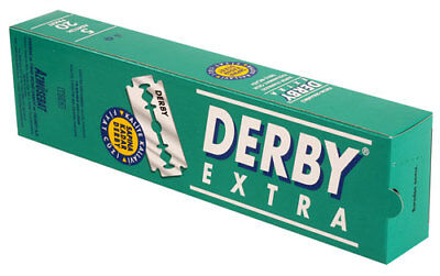 Derby Extra Double Edge Razor Blades For Safety Razors 100 pcs Free Shipping