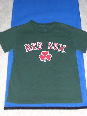 Boys Red Sox Tee Shirt  Size S (5/6)