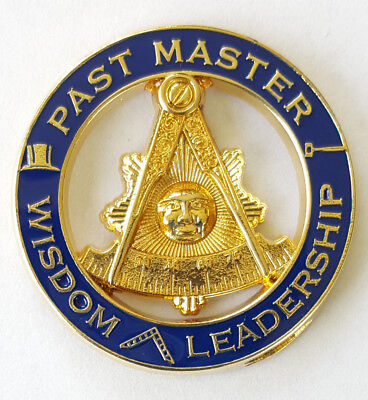 Masonic Large Past Master Without Square Lapel Pin Mason Freemason