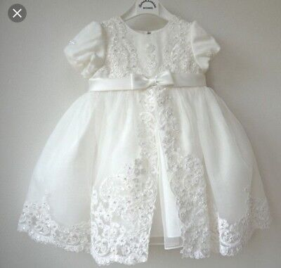 Sarah Louise 10173 Ivory Ceremonial Ivory Christening Dress New Without Tags