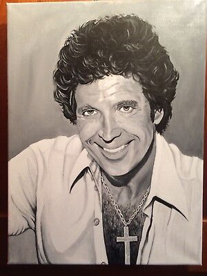 Sir Tom Jones -Original Hand Painted Canvas!!!!!!