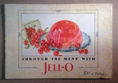 JELL-O Advertising Brochure  1927 FREE SHIPPING  INV-P113