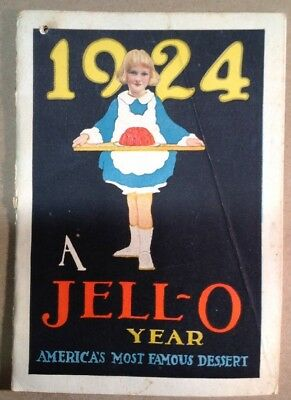 JELL-O Advertising Brochure  1924 FREE SHIPPING  INV-P108