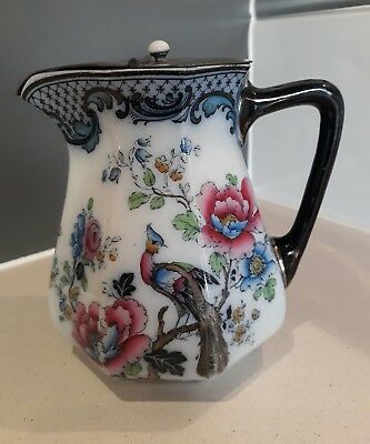 "Losol Ware Lidded Water Jug - WILTON - Keeling & Co Ltd - 6.5"" HIGH - BARGAIN"