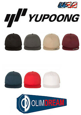 330f795510d1d YUPOONG - UNSTRUCTURED Five-Panel Snapback Cap - 6502 new -  7.15 ...