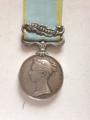 Crimea medal wounded Rifle Brigade