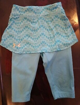 Under Armour Toddler Girls Capris with Skirt, 2T, Blue