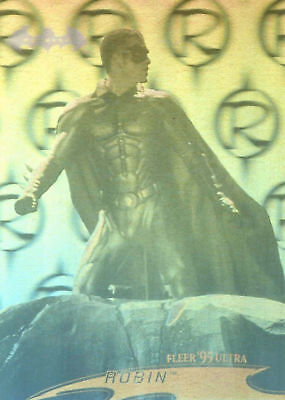 1995 Fleer Ultra DC Batman Forever Movie Hologram chase card # 06 of 36