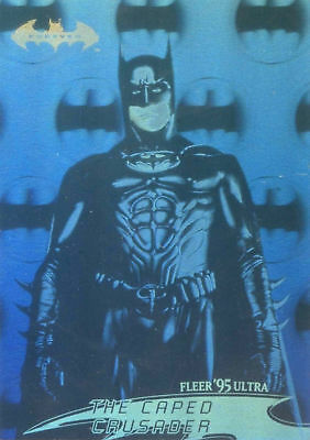 1995 Fleer Ultra DC Batman Forever Movie Hologram chase card # 20 of 36