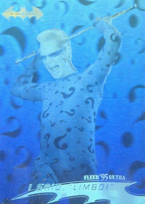 1995 Fleer Ultra DC Batman Forever Movie Hologram chase card # 32 of 36