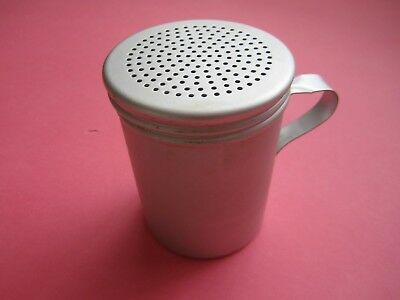 Vintage WEAR-EVER Sugar Shaker Aluminum Cup Sifter, w/Handle