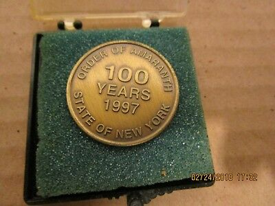 Order of the Amaranth 100 Year Coin 1997  (BB1)