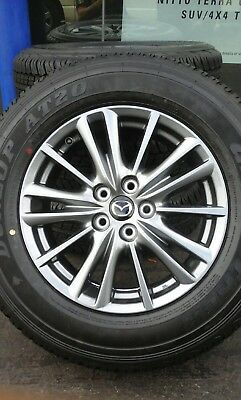 Mazda Wheels And Tyres Cx7 Cx5 Brand New 2018 Model
