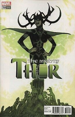 Mighty Thor #700 1:100 Hughes Variant Legacy Marvel Comics Near Mint