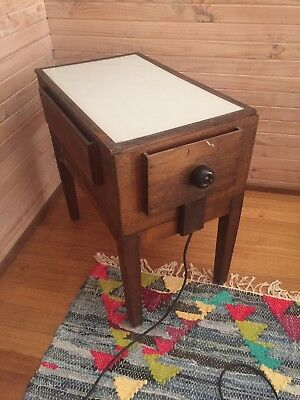 Vintage antique retro photographic design light box