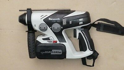 PANASONIC EY7880lP 28.8V CORDLESS ROTARY HAMMER with 2x Batteries